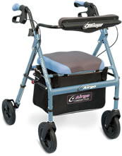 Maneuverable Rollator